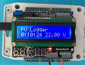 Arduino PV logger